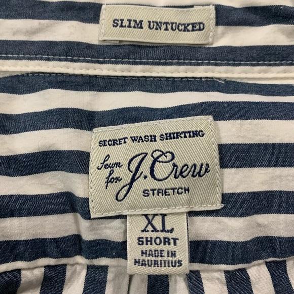 J CREW Slim Untucked LS Shirt
